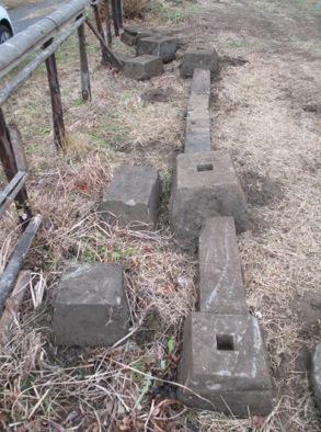 見つかった建築当初の基礎